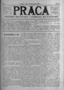 Praca: tygodnik polityczny i literacki, illustrowany. 1907.11.10 R.11 nr45