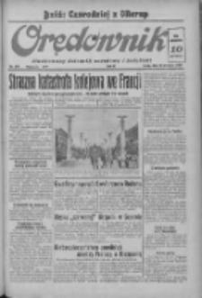 Orędownik: ilustrowany dziennik narodowy i katolicki 1937.09.22 R.67 Nr219
