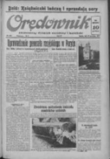 Orędownik: ilustrowany dziennik narodowy i katolicki 1937.09.25 R.67 Nr222