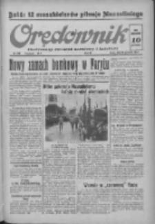 Orędownik: ilustrowany dziennik narodowy i katolicki 1937.09.29 R.67 Nr225
