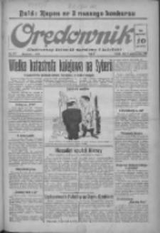 Orędownik: ilustrowany dziennik narodowy i katolicki 1937.10.01 R.67 Nr227