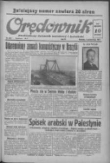 Orędownik: ilustrowany dziennik narodowy i katolicki 1937.10.03 R.67 Nr229