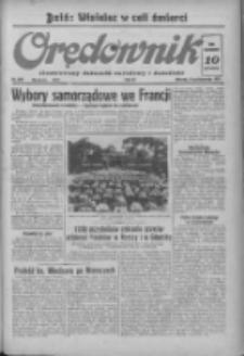 Orędownik: ilustrowany dziennik narodowy i katolicki 1937.10.12 R.67 Nr236