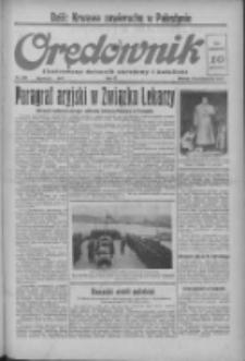 Orędownik: ilustrowany dziennik narodowy i katolicki 1937.10.19 R.67 Nr242
