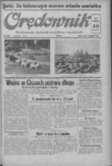 Orędownik: ilustrowany dziennik narodowy i katolicki 1937.11.05 R.67 Nr256