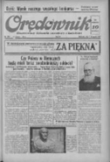 Orędownik: ilustrowany dziennik narodowy i katolicki 1937.11.07 R.67 Nr258