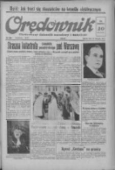 Orędownik: ilustrowany dziennik narodowy i katolicki 1937.11.13 R.67 Nr262