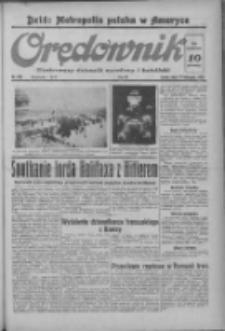 Orędownik: ilustrowany dziennik narodowy i katolicki 1937.11.17 R.67 Nr265