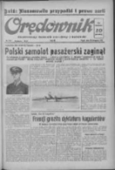Orędownik: ilustrowany dziennik narodowy i katolicki 1937.11.26 R.67 Nr273