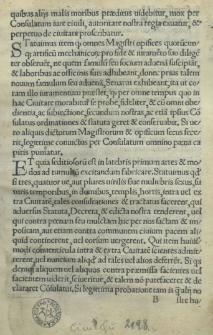 [Statuta et laudabiles Christianae ordinationes [...] per [...] Sigismundu[m] [...] regem Poloniae [...] civitati Gedanensi [...] erectae et constitutae [...].]