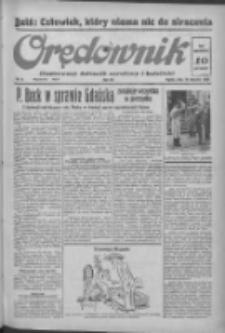 Orędownik: ilustrowany dziennik narodowy i katolicki 1938.01.14 R.68 Nr11