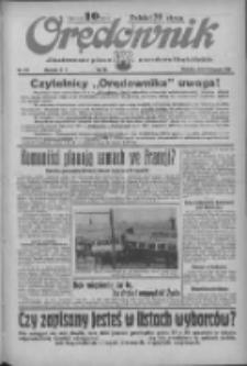 Orędownik: ilustrowane pismo narodowe i katolickie 1936.11.08 R.66 Nr261
