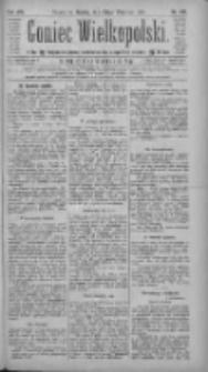 Goniec Wielkopolski: najtańsze pismo codzienne dla wszystkich stanów 1884.09.20 R.8 Nr217