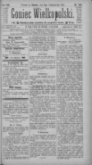Goniec Wielkopolski: najtańsze pismo codzienne dla wszystkich stanów 1884.10.11 R.8 Nr235