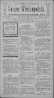 Goniec Wielkopolski: najtańsze pismo codzienne dla wszystkich stanów 1884.11.12 R.8 Nr261
