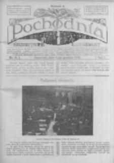 Pochodnia. Narodowy Tygodnik Illustrowany. 1913.12.11 R.1 nr11