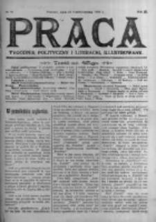 Praca: tygodnik polityczny i literacki, illustrowany. 1905.10.15 R.9 nr42