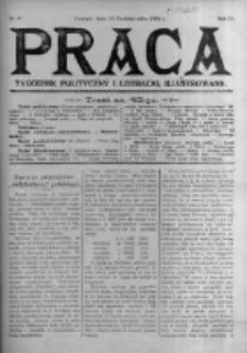 Praca: tygodnik polityczny i literacki, illustrowany. 1905.10.22 R.9 nr43