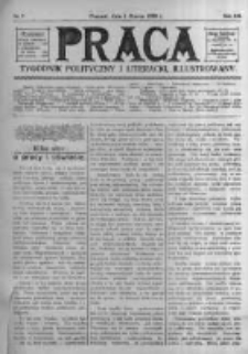 Praca: tygodnik polityczny i literacki, illustrowany. 1908.03.01 R.12 nr9