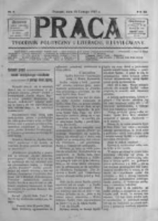 Praca: tygodnik polityczny i literacki, illustrowany. 1907.02.24 R.11 nr8