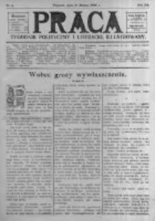 Praca: tygodnik polityczny i literacki, illustrowany. 1908.03.15 R.12 nr11