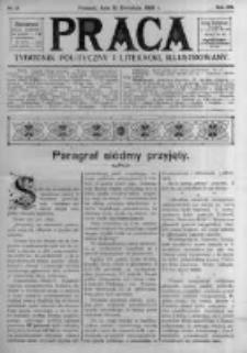 Praca: tygodnik polityczny i literacki, illustrowany. 1908.04.12 R.12 nr15