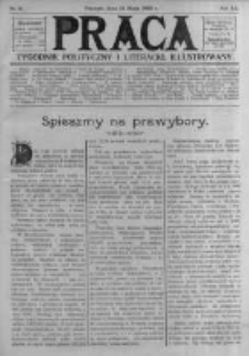 Praca: tygodnik polityczny i literacki, illustrowany. 1908.05.31 R.12 nr22