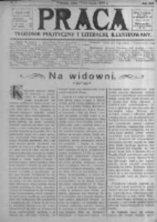 Praca: tygodnik polityczny i literacki, illustrowany. 1909.01.17 R.13 nr3