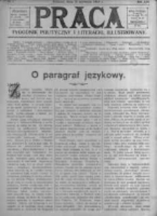 Praca: tygodnik polityczny i literacki, illustrowany. 1909.01.31 R.13 nr5