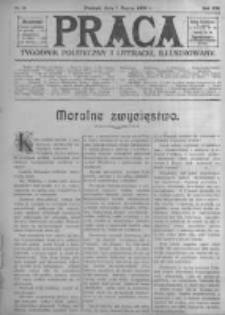 Praca: tygodnik polityczny i literacki, illustrowany. 1909.03.07 R.13 nr10