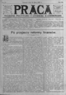 Praca: tygodnik polityczny i literacki, illustrowany. 1909.07.18 R.13 nr29