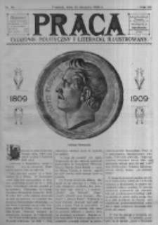 Praca: tygodnik polityczny i literacki, illustrowany. 1909.08.22 R.13 nr34