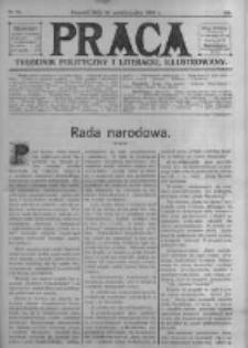 Praca: tygodnik polityczny i literacki, illustrowany. 1909.10.24 R.13 nr43