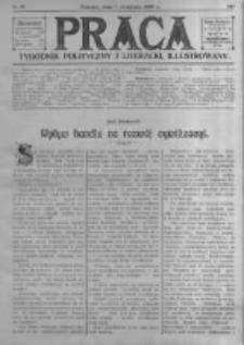 Praca: tygodnik polityczny i literacki, illustrowany. 1909.11.07 R.13 nr45