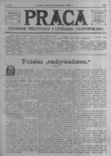Praca: tygodnik polityczny i literacki, illustrowany. 1909.11.28 R.13 nr48