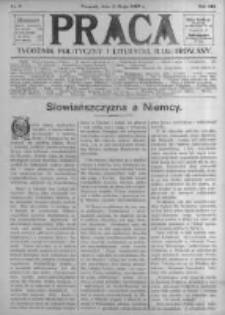 Praca: tygodnik polityczny i literacki, illustrowany. 1909.05.09 R.13 nr19