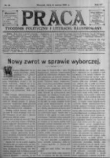 Praca: tygodnik polityczny i literacki, illustrowany. 1910.03.06 R.14 nr10
