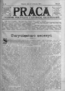 Praca: tygodnik polityczny i literacki, illustrowany. 1910.04.17 R.14 nr16