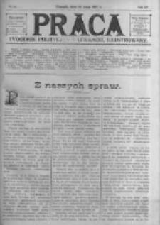 Praca: tygodnik polityczny i literacki, illustrowany. 1910.05.22 R.14 nr21