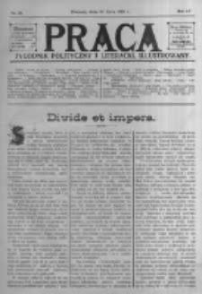 Praca: tygodnik polityczny i literacki, illustrowany. 1910.07.10 R.14 nr28