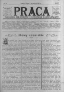 Praca: tygodnik polityczny i literacki, illustrowany. 1910.09.04 R.14 nr36