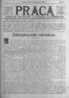 Praca: tygodnik polityczny i literacki, illustrowany. 1910.10.09 R.14 nr41