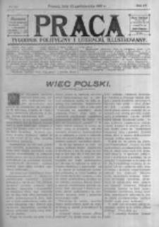 Praca: tygodnik polityczny i literacki, illustrowany. 1910.10.23 R.14 nr43