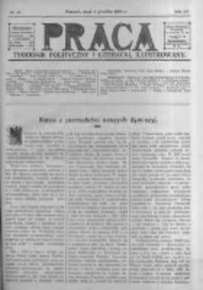 Praca: tygodnik polityczny i literacki, illustrowany. 1910.12.04 R.14 nr49