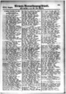 Armee-Verordnungsblatt. Verlustlisten 1916.05.12 Ausgabe 974