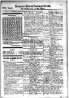 Armee-Verordnungsblatt. Verlustlisten 1916.05.15 Ausgabe 977