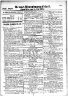 Armee-Verordnungsblatt. Verlustlisten 1916.05.16 Ausgabe 979