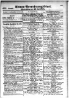 Armee-Verordnungsblatt. Verlustlisten 1916.05.17 Ausgabe 981