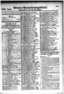 Armee-Verordnungsblatt. Verlustlisten 1916.05.23 Ausgabe 989