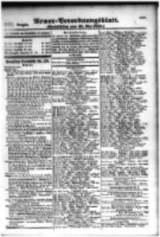 Armee-Verordnungsblatt. Verlustlisten 1916.05.25 Ausgabe 991